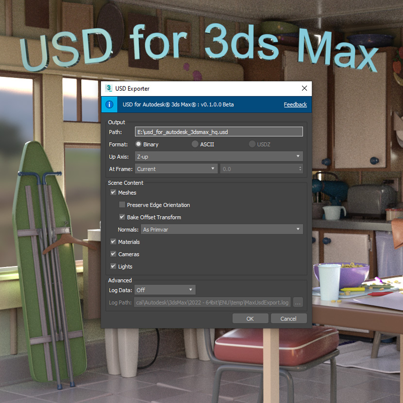 Autodesk - USD 0.1 for 3ds Max 2022 Release Notes